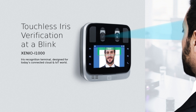 Xenio i1000 Iris Recognition Time Clock